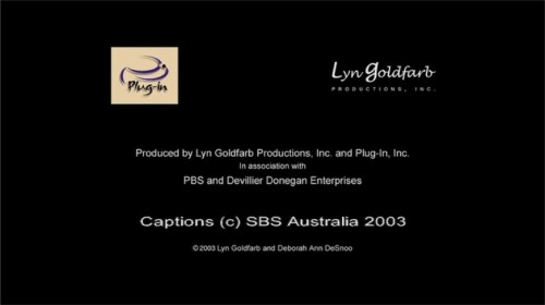 End credits in Arial include a caption, also in Arial, reading: Captions (c) SBS Australia 2003
